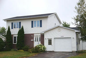 Nice 2 Storey house with garage for rent in Moncton North End