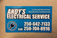 $60 · Fully Qualified Electrician, 30 years experience