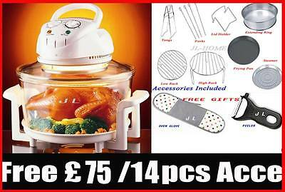NEW ARRIVAL 12L Halogen Oven Cooker MOTHER'S DAY GIFT