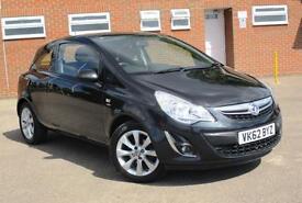 2012 62 Vauxhall Corsa 1.2i ( a/c ) Active 3 DOOR MANUAL PETROL
