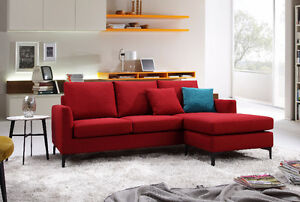 Oxford Sofa with Reversible Lounge 3 Colours