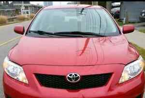 2010 TOYOTA COROLLA CE IMMACULATE CONDITION FOR SALE LIKE NEW