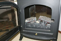 Dimplex free standing electric fireplace