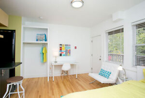 Furnished suite - Creighton St - May 1  til Aug 31