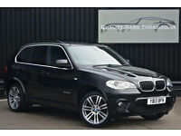 2013 BMW X5 3.0 xDrive30d M Sport 7 Seats * Black Sapphire + Heated Seats etc*