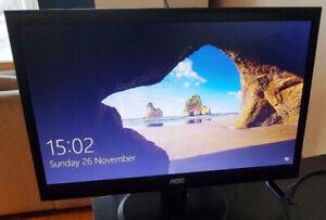 "AOC 20"" Widescreen Monitor"