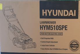 **BRAND NEW IN BOX** Hyundai lawnmower with push button start