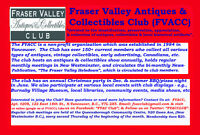 Fraser Valley Antiques & Collectibles Club (FVACC)