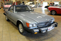 1983 MERCEDES 380SL CONVERTIBLE WITH REMOVEABLE