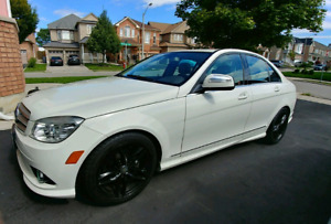 Mint Condition 2009 Mercedes-Benz c230 4 Matic low km $11,999