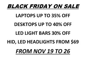 ~BLACK FRIDAY DEALS!!!Dell, HP, Acer Laptops ON SALE from $99
