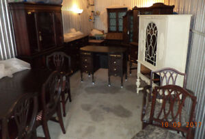 ** Antique/Vintage Cabinets & Sideboards, refinished (delivery)