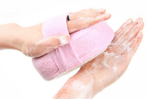 1Pc Bath Shower Sponge Loofah Luffa Spa Exfoliator Pad Body Scrubber