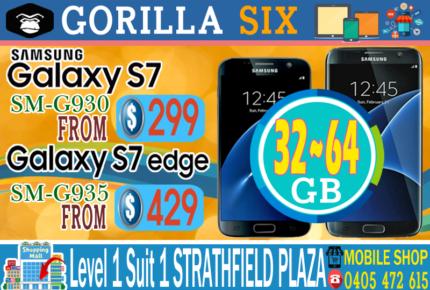 NEW & USED SAMSUNG GALAXY S7 & S7 EDGE 32GB64GB UNLOCKED