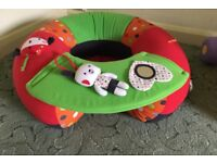 Inflatable baby/toddler seat