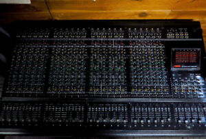 Fostex 24-channel mixing console