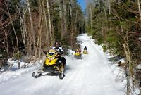 Bancroft Cabin Rental Snowmobiler 3 Night Special, On OFSC Trail