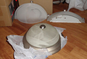 3 PC SET 1 CEILING FIXTURE & 2 MATCHING WALL SCONCES. NEW! Offer