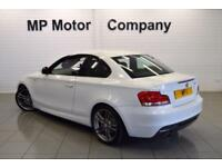2011 11 BMW 1 SERIES 2.0 118D M SPORT 2D 141 BHP DIESEL 6SP SPORTS COUPE, WHITE