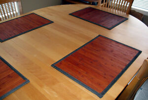 Maple Dining Room Table & Chairs