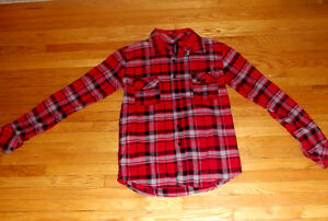 Plaid Full Sleeves with Collar
