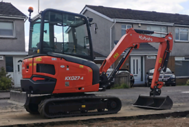 OPERATED MINI DIGGER/PLANT-HIRE 01324312113