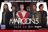 Maroon 5 Live in Concert package
