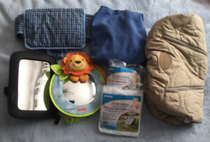 Mirrors and Baby Travel Items