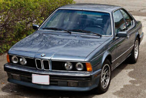 1988 BMW 6-Series 635CSi (E24) 5 speed manual 199,781 km