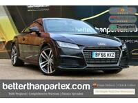 2017 Audi TT 2.0 TFSI S LINE 1 OWNER 35,000 MILES 2d 227 BHP Coupe Petrol Manual