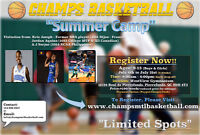 "West Island Summer Camp - ""CHAMPS BASKETBALL"" Ages: 9-13"