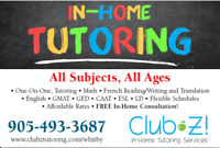 1-0n-1, In-Home Tutoring: Math, Physics, English, French, & More