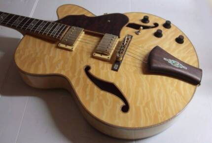 Ibanez AF125 Hollow-Body Electric Guitar