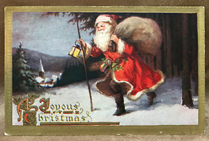 Genealogy/Family History - Christmas Postcard