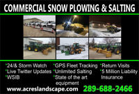 Snow Plow Drivers Needed