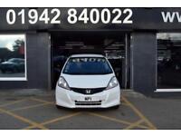 2014 14 HONDA JAZZ 1.2 I-VTEC S AC 89 BHP 5 DR PETROL HATCH, FHSH, 21,000M WHITE
