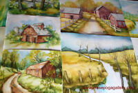 1-POINT and 2-POINT PERSPECTIVE WATERCOLOR CLASSES