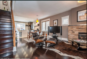 Furnished Executive Home with Parking - Available October 1