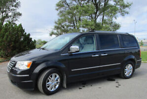 Chrysler Town & Country Limited 2009 177500 km