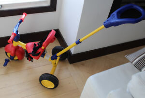 Little Tikes trike with parent handle, good condition