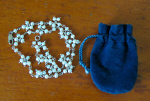 """""""PEARL"""" CLUSTER NECKLACE"""