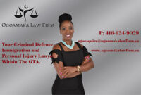 Personal Injury, Criminal Defence & Immigration Lawyer