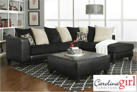Brand NEW Black Sectional! Call 204-691-8283!