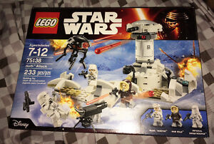 Lego Hoth Attack *New* Resealed