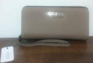 GUESS WALLET -BLACK & BROWN- BRAND NEW