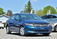 2012 Honda Civic Berline  64$/sem HONDA PLUS Lx