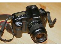 Full frame Canon EOS 5D with lens