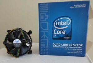 Ventilateur pour processeur Intel