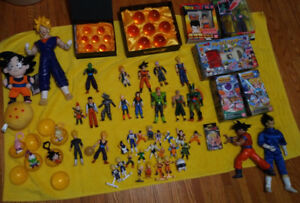Dragon ball z figures Collection