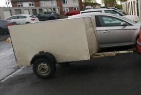 Large box trailer